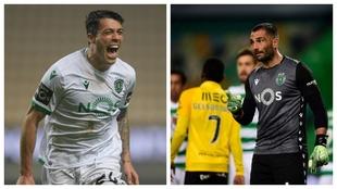 Pedro Porro celebra un gol contra el Boavista y Adán pide más...
