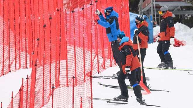 Cortina d'Ampezzo, una estación gafada en las grandes competiciones