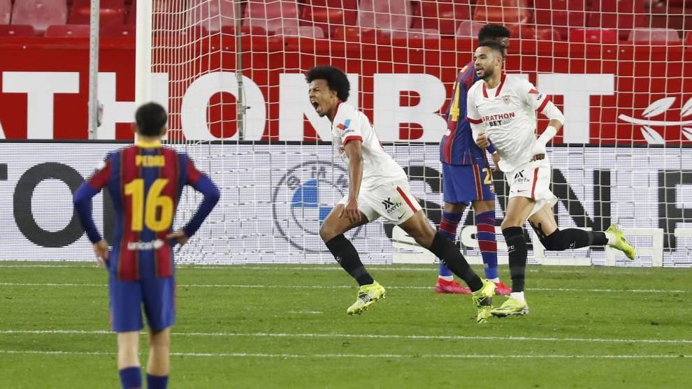 El Sevilla tiene la final en su mano