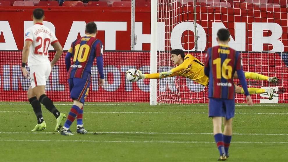 """Koeman: """"Hubo penalti a Alba"""""""