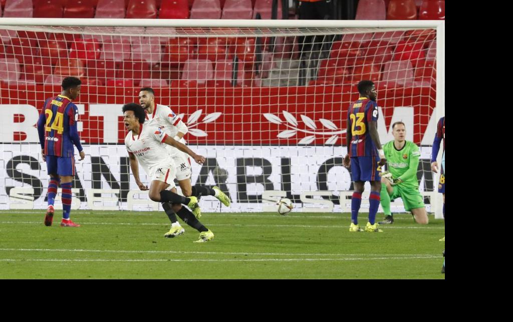 Barcelona's Copa hopes on the ropes