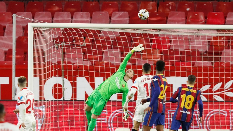Barcelona ratings vs Sevilla: It would have been worse without Ter Stegen