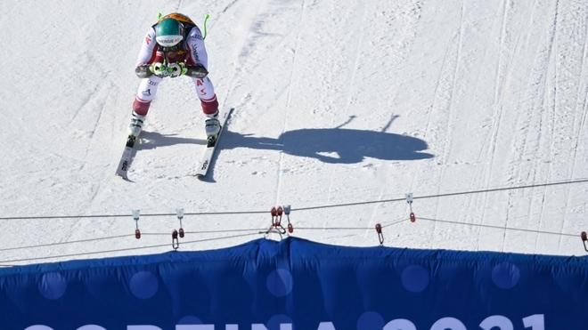 El austriaco Kriechmayr se cuelga el oro en el Super Gigante del Mundial de Cortina