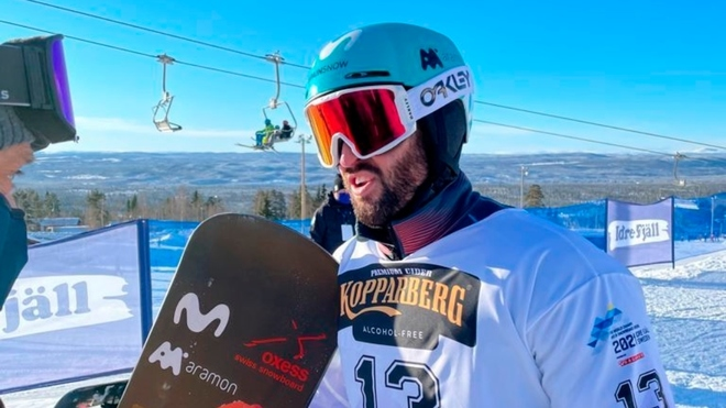 Eguibar logra la séptima medalla de España en un Mundial de nieve