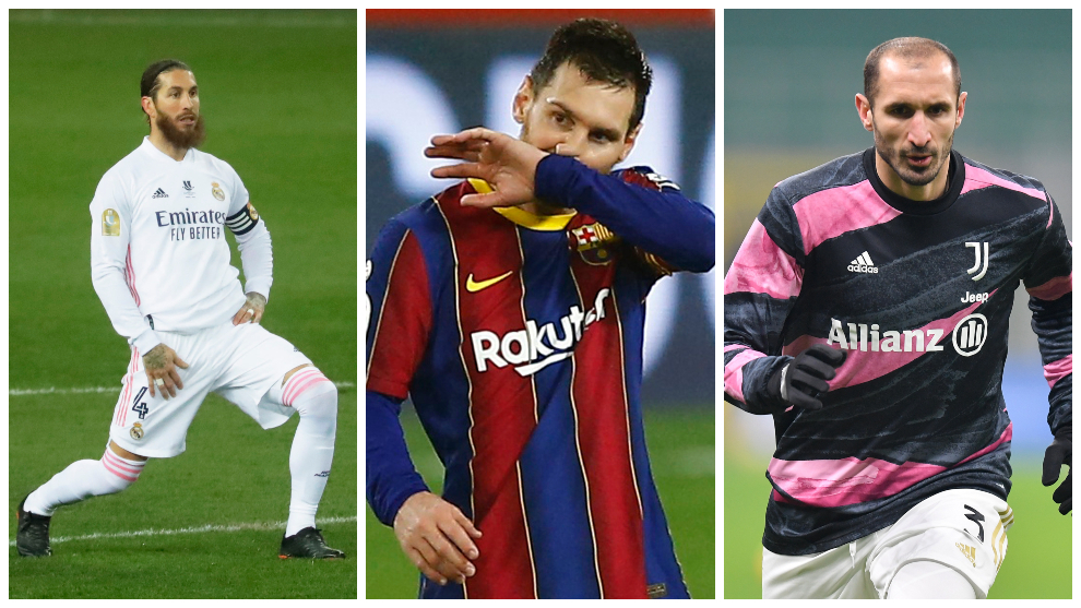 The 10 most loyal players in football's top leagues: Messi comes second
