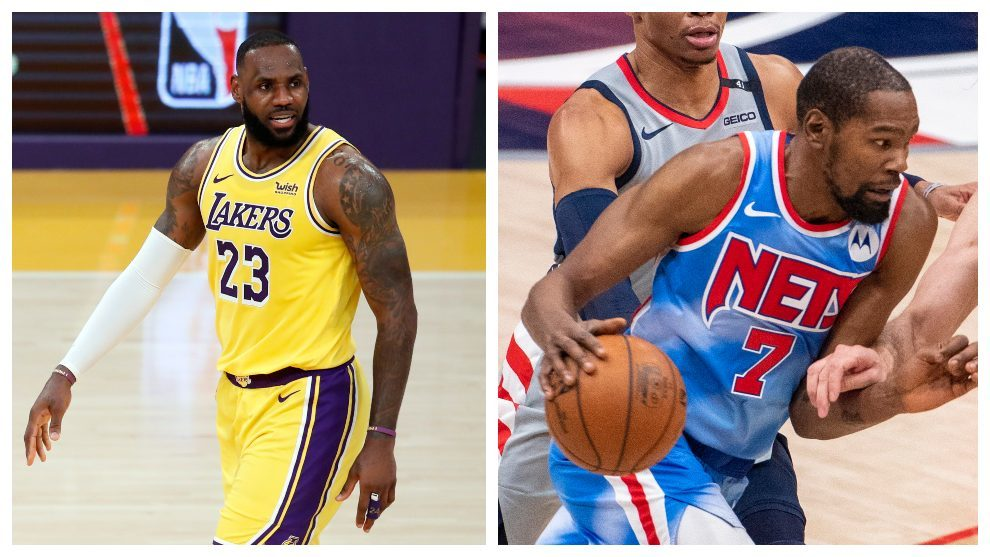 LeBron James and Kevin Durant remain most-voted NBA players after second All-Star returns