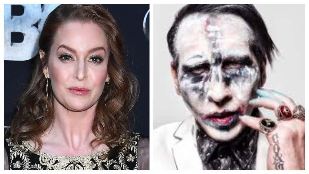 Esme Bianco recalls how Marilyn Manson cut her with a knife and chased her with an axe