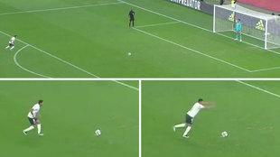 Ridículo penalti de Rony en el Mundial de clubes: tres carrerillas distintas, saltito y...