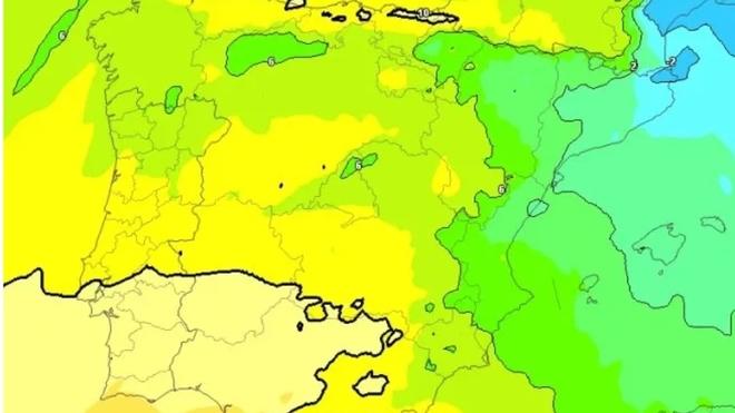 Viernes pasado por nieve, más estable el sábado y frío domingo