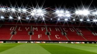 Imagen del estadio Georgios Karaiskakis de El Pireo.