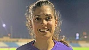 La lanzadora Miriam Martínez.