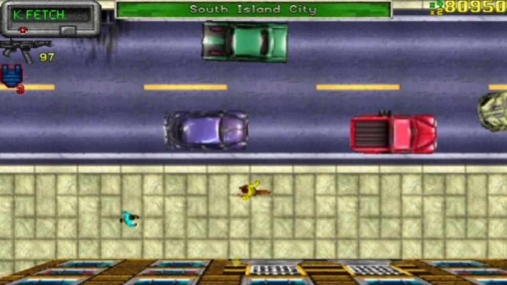 El característico jersey amarillo del Grand Theft Auto original.