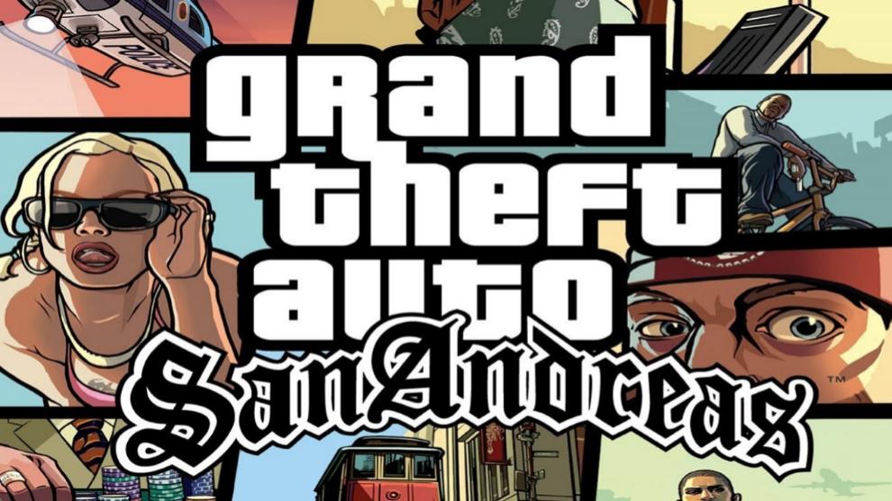 La mítica portada del Grand Theft Auto: San Andreas, historia viva de la industria de videojuegos.
