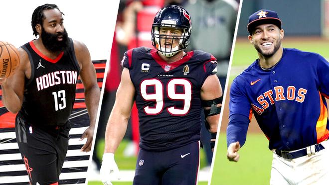 Houston's biggest stars depart: JJ Watt, James Harden and George Springer