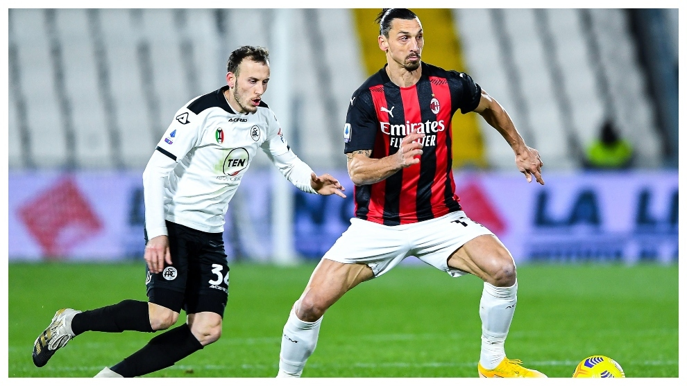 Spezia 2-0 Milan: Spezia blow Serie A title race open by beating AC Milan -  Serie A