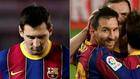 Leo Messi, contra la Juventus y frente al Alavés