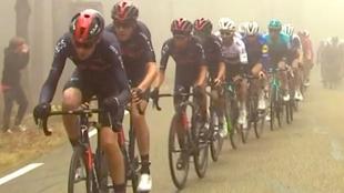La primera 'burrada' del niño maravilla del ciclismo español llegó en el Mont Ventoux: ¡Cómo descolgó a los 'gallos'!