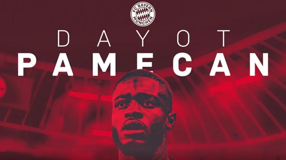 Bayern Munich sign Upamecano