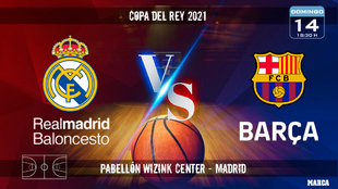 Real Madrid vs Barcelona Basket | Final Copa del Rey de Baloncesto...