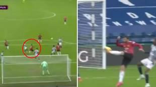 La volea imposible de Bruno Fernandes que firmaría el mismísimo Zidane