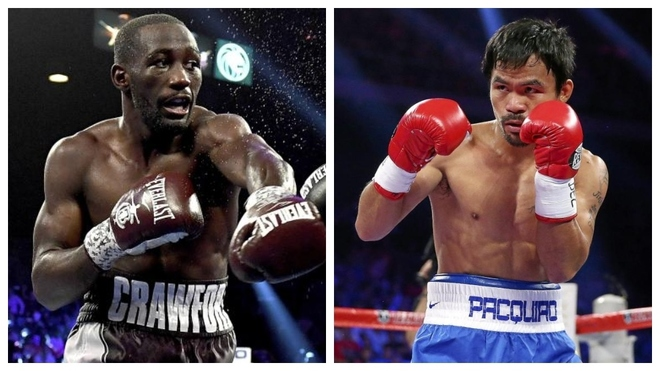 Terence Crawford and Manny Pacquiao