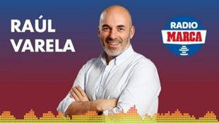 Raúl Varela, en Radio MARCA.