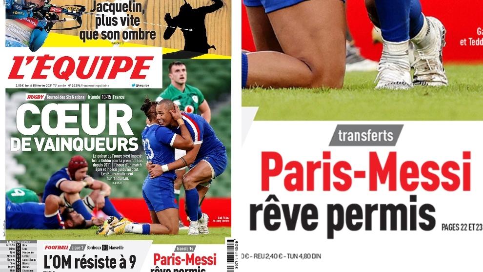 En Francia ven factible el fichaje de Lionel Messi por el PSG