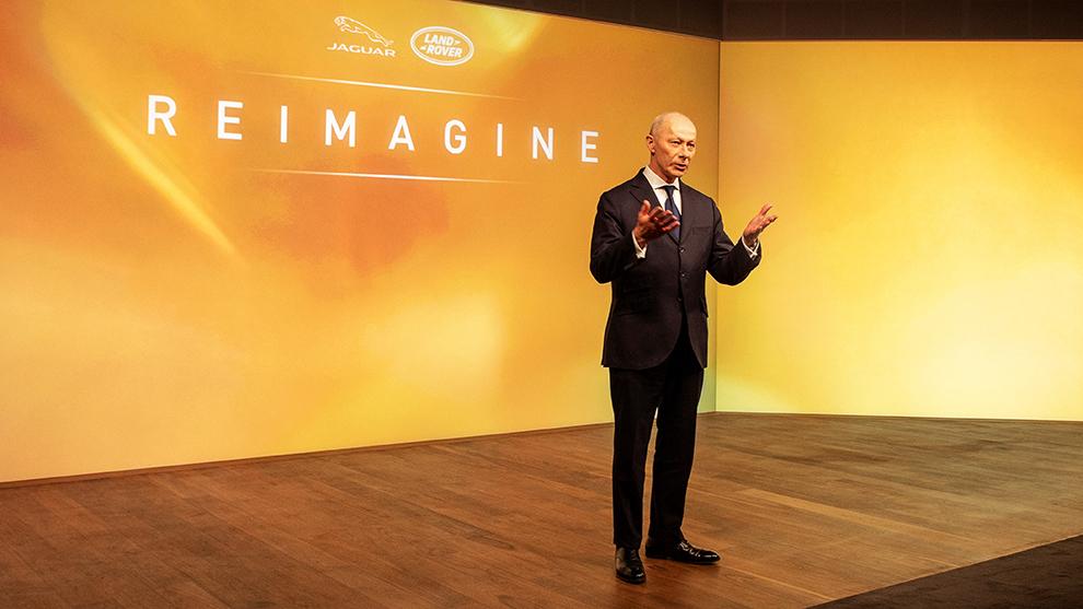 Thierry Bollore, CEO de Jaguar-Land Rover, ha presentado la estrategia 'Reimagine'.