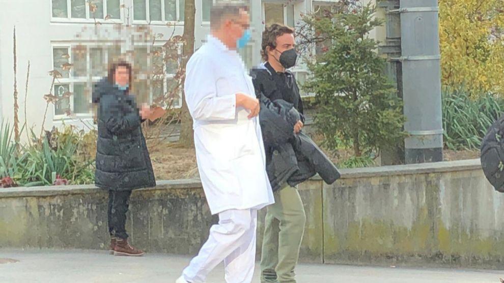 Alonso leaving hospital