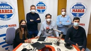 El equipo de 'Pericos en Radio MARCA'