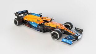 Así es el nuevo McLaren de 2021.
