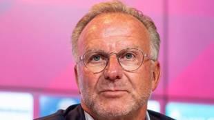 Karl-Heinz Rummenigge, consejero delegado del Bayern de Múnich