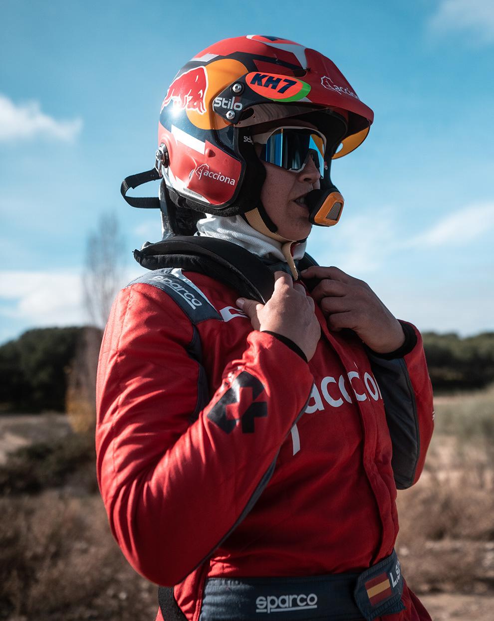 Será el primer rally de la catalana fuera de las motos.