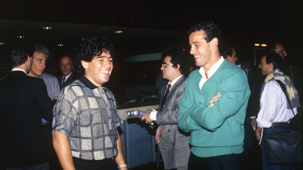 """""""Lo que Maradona hacía en el entrenamiento era 100 veces más grande de lo que veíamos después en el campo"""""""