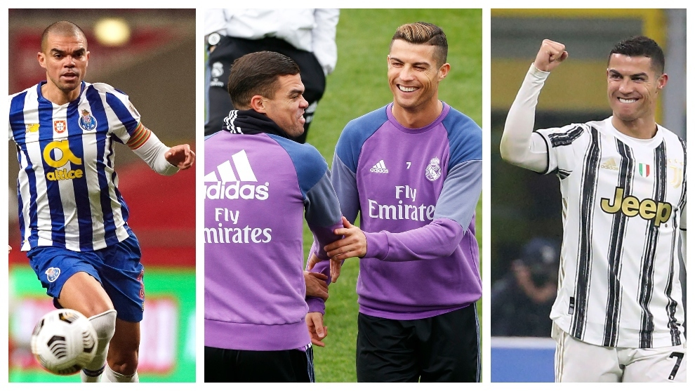 Pepe and Cristiano Ronaldo: Close enemies meet again, 18 years after first match-up