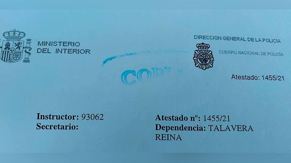 El Talavera denuncia la suplantación de identidad de Muñiz Fernández