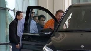 Última vez que Peter Lim y Anil Murthy se vieron en persona fue en...