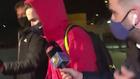 Antoine Griezmann, jugador del Barcelona, en el Aeropuerto de El Prat...