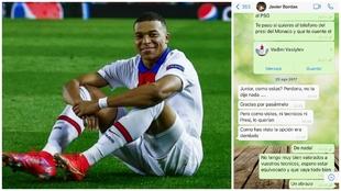 La conversación de Whatsapp que prueba que el Barça prefirió a Dembélé antes que a Mbappé