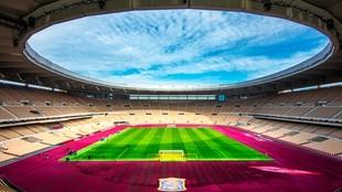 Un imagen del estadio de La Cartuja.