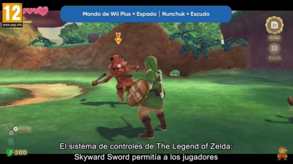 El sistema de combate de The Legend of Zelda: Skyward Sword quedará renovado en Nintendo Switch.