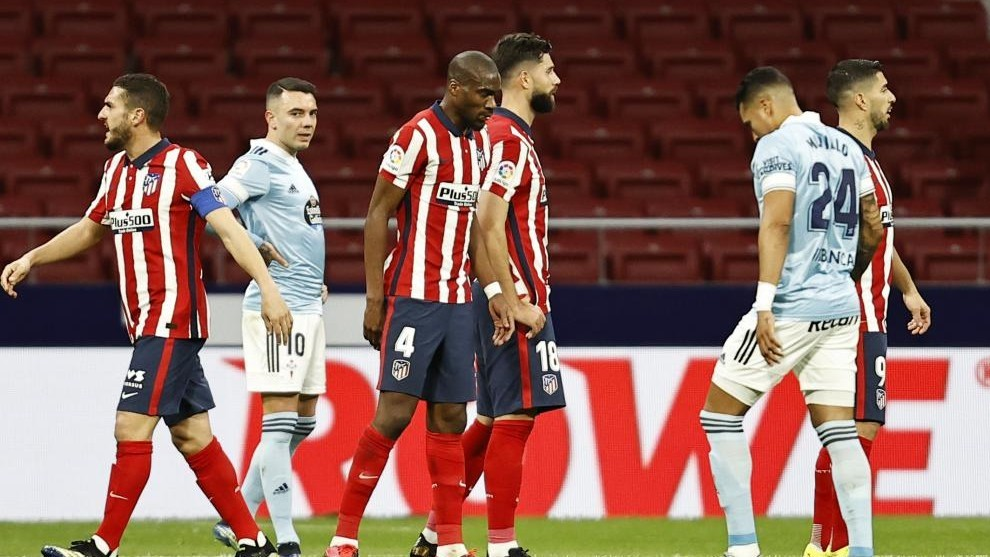 Kondogbia and Felipe against Celta