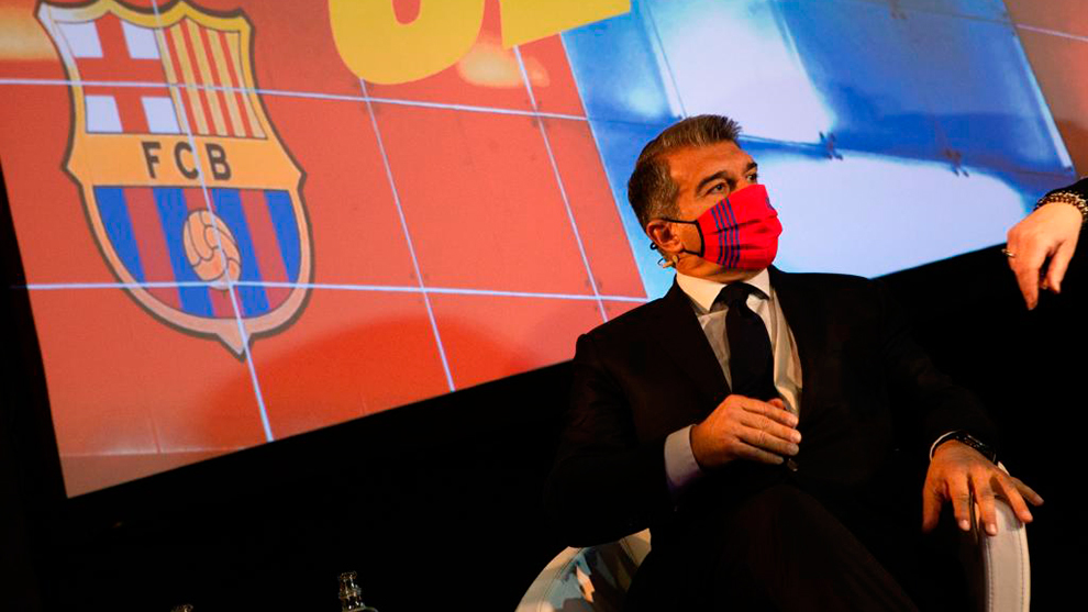 Fc Barcelona La Liga Laporta Signings I Have All The Cards Ready To Be Played Marca In English