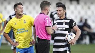 Rubén Castro, en el partido de la primera vuelta ante Las Palmas  en...