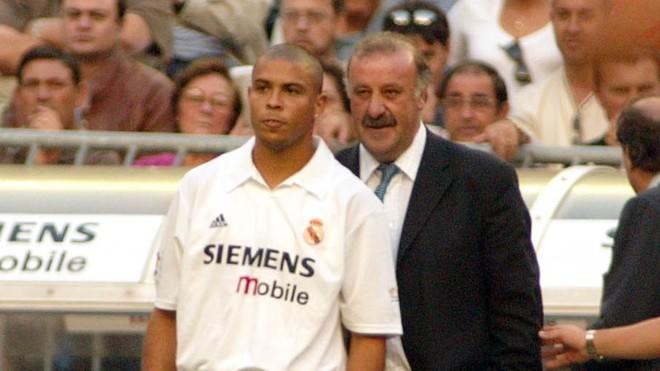 Ronaldo and Del Bosque