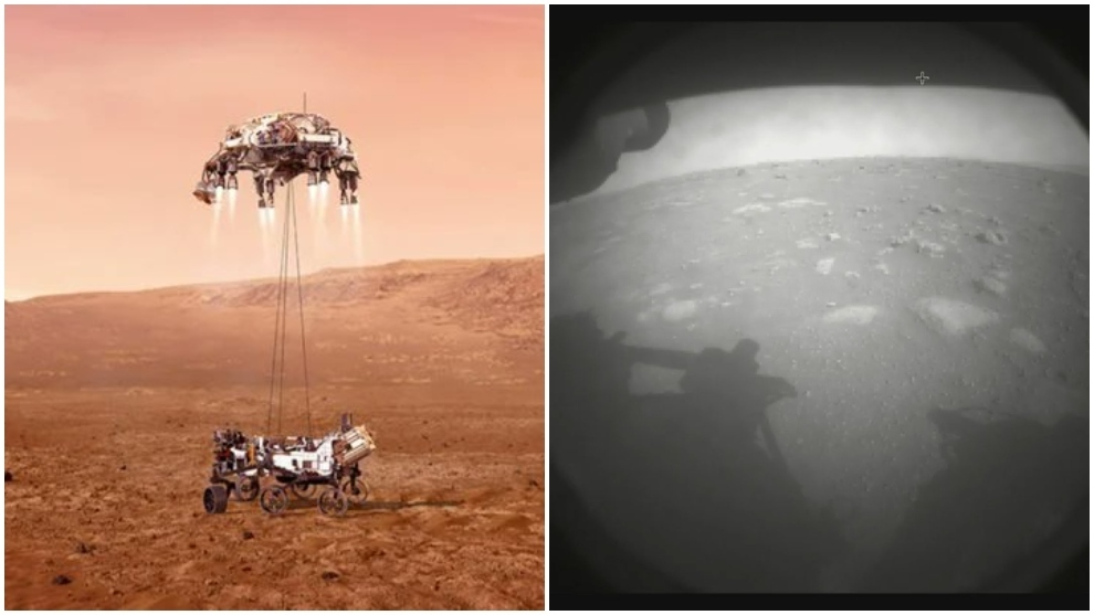 Touchdown! NASA's Perseverance rover lands on Mars