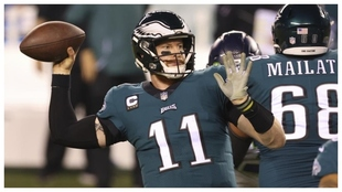 Carson Wentz deja los Eagles y pone rumbo a los Colts.