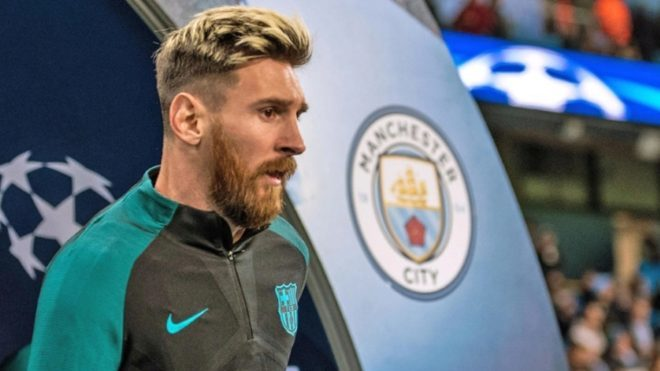 Manchester City back in for Messi