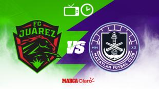 FC Juárez vs Mazatlán FC: Horario y dónde ver