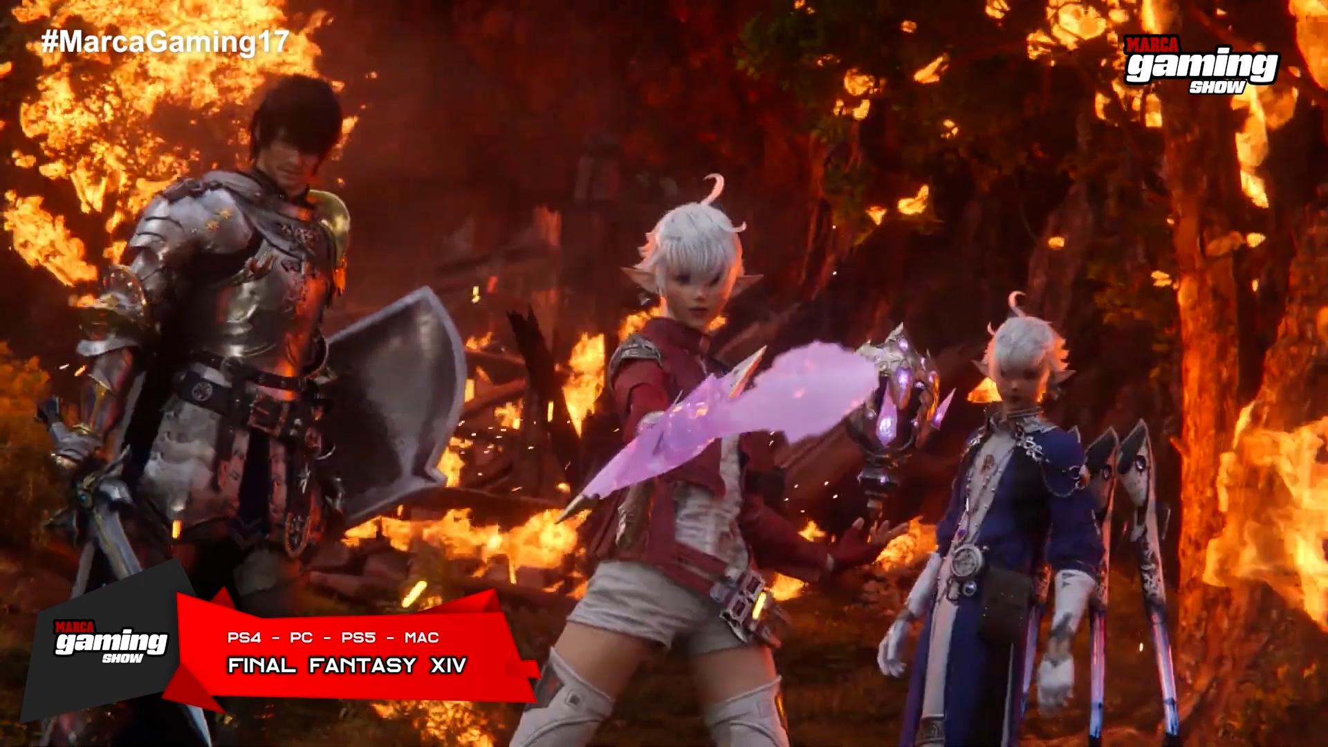 Final Fantasy XIV (PC - PS4)